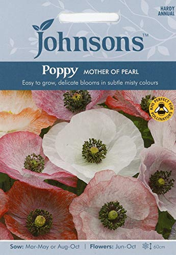 - Casavidas Seeds Package: 2: Johnsons Seeds er of Pearl Seed - Delicate Misty Colours!