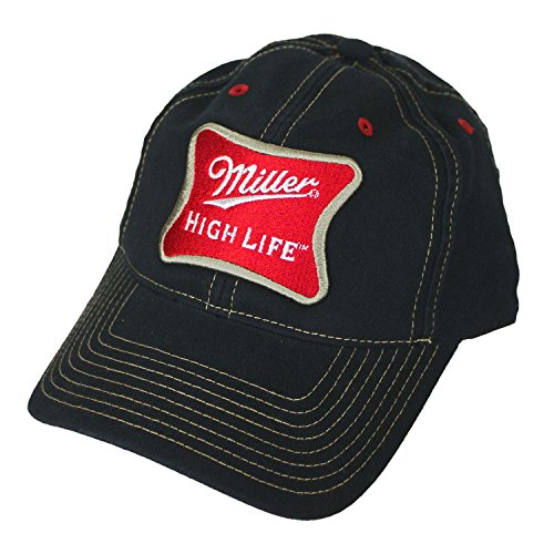 Miller High Life Adjustable Velcro - Life Cap High Miller
