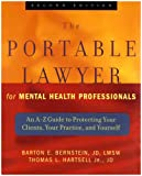 The New Portable Lawyer for Mental Health Professionals and the Portable Ethicist for Mental Health Professionals Set, Bernstein, Barton E., 0471678457