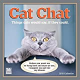 Sellers Publishing 2018 Cat Chat: Things Cats Would Say If They Could Wall Calendar (CA0113)