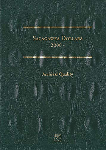 2000 Hard Cover Sacagawea Dollars Collection 2000-2015 Littleton Folder # LCF37 Empty by Littleton Custom Coin Folder (2005-2007) Album