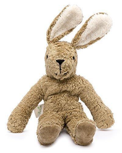 Senger Stuffed Animals - Bunny - Handmade 100% Organic Toy (White/Beige - 12 Inches Tall) by Senger Tierpuppen