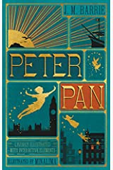 Peter Pan (Illustrated with Interactive Elements) (Harper Design Classics) Hardcover