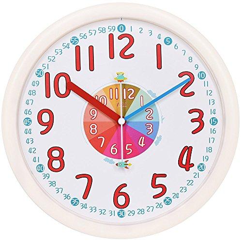 Baby Time Clock - Kids Wall Clock Baby Nursery Large 12