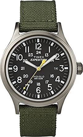 Timex T49961 Mens Expedition Scout Green Watch