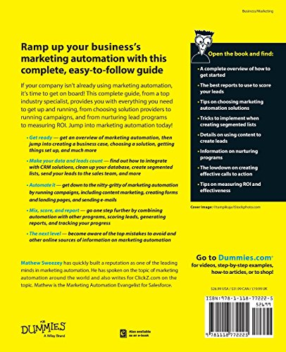 Marketing-Automation-For-Dummies-For-Dummies-Series