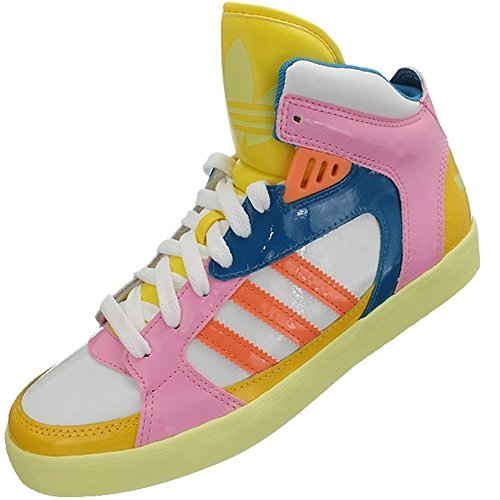 Adidas Amberlight W - D65848 Vit-blå-rosa