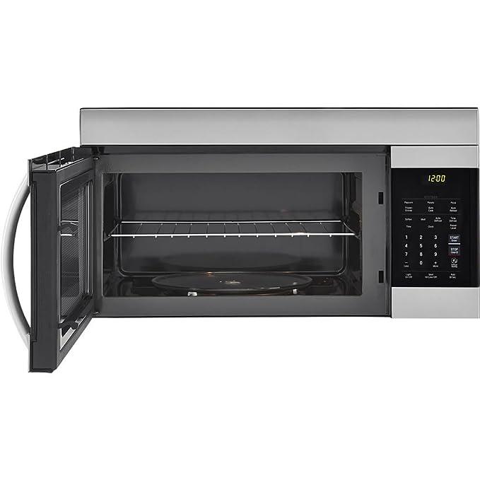 Amazon.com: LG lmv1762st 1.7 Cu. Ft. 1000 W acero horno ...