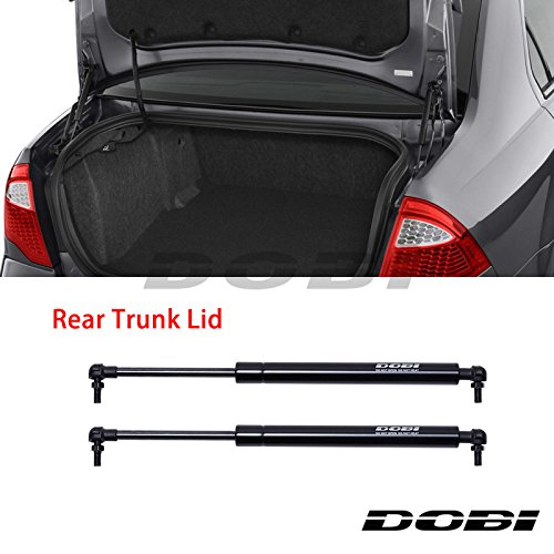 VioGi New 2pcs Rear Hatch Trunk Lid Black Steel Gas Lift Supports Strut Shocks Fit 02-10 Lexus SC-430 With Factory Spoiler PM1010