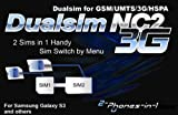 NC2 3G Dualsim Adapter No Cut for Samsung Galaxy S3