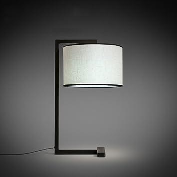C&S CS Lámpara de Escritorio con iluminación de Hierro Arte ...