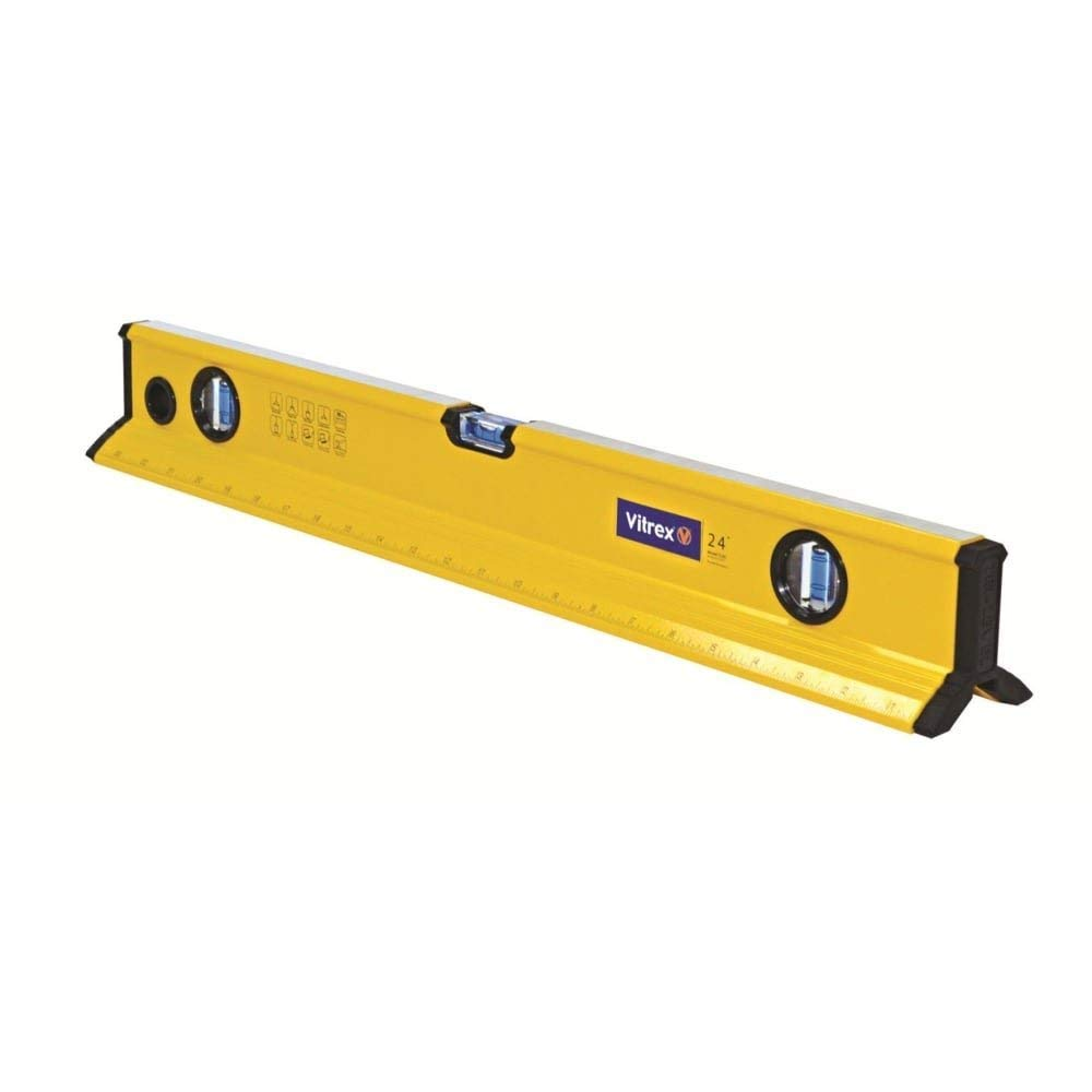 Spirit Level 60cm 24' Tri-Level Tilemate Vitrex TRI600 3 Vials Alumimium 600mm NEW