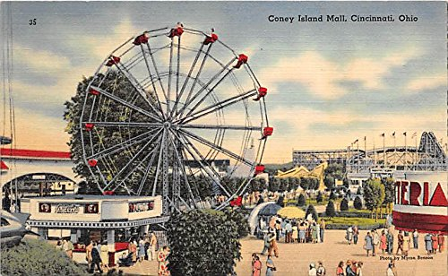 Coney Island Mall Cincinnati, Ohio, OH, USA Postcard Post - Oh Cincinnati Mall