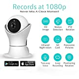 1080P 360 Baby Monitor - Wireless Security Camera - Remote Video Monitor - WiFi Baby Monitor- 32GB Micro SD