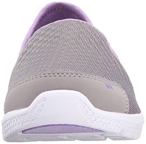 Ryka Womens Harlow SML Casual Slip-On Grey/lavender
