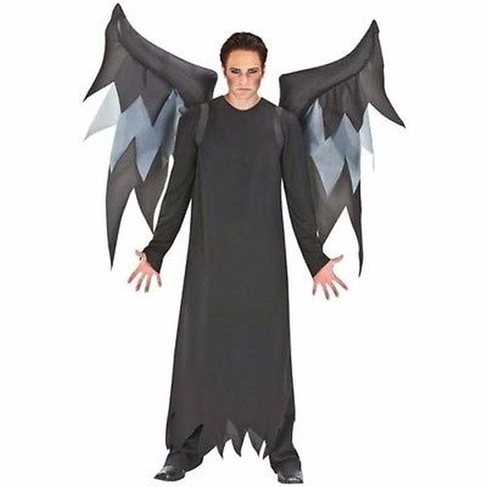 Amazon.com Inflatable Black Demon Wings Halloween Costume w/ Belt Clip Adult One Size ... Toys u0026 Games  sc 1 st  Amazon.com & Amazon.com: Inflatable Black Demon Wings Halloween Costume w/ Belt ...