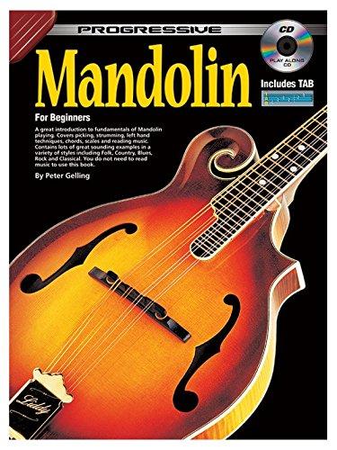 Amazon Com Progressive Mandolin For Beginners Partitions