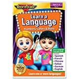Discover a new language or practice vocabulary and counting in your child's first language. Choose from Spanish, French, Mandarin Chinese, Italian, German, and English. All six languages on one DVD! In this exciting adventure, kids learn colors, toys...