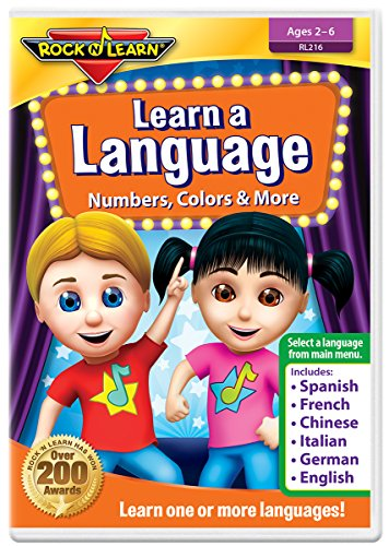 Learn A Language: Numbers, Color...