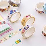 KathShop 1.5cm5m Creative Cartoon Drinks Washi Tape