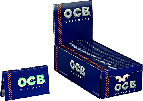 OCB Papers 15424&Nbsp;Ultimate Short Rolling - 25&Nbsp;Booklets of 100 Blue