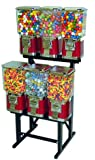 Pro Line 6 Unit Gumball Candy Machine with Step Stand