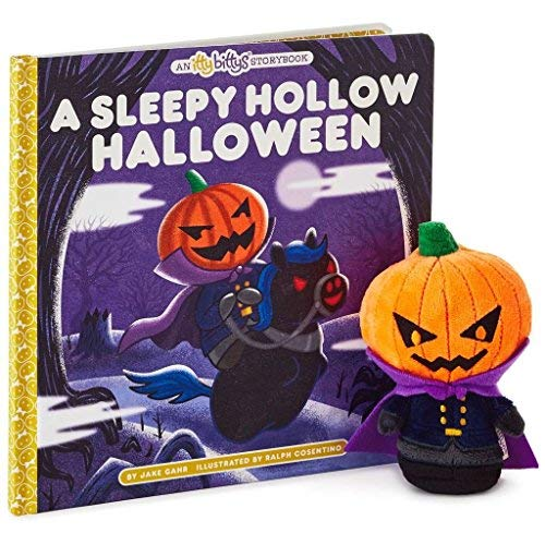 Hallmark itty bittys A Sleepy Hollow Halloween Stuffed Animal and Storybook -