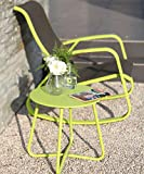 Grand Patio Steel Patio Side Table, Weather
