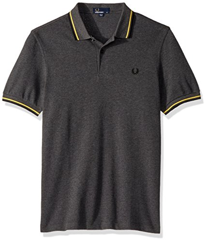 Fred Graphite Marl Twin Uomo Fp Perry Polo Tipped wqTrqf6C