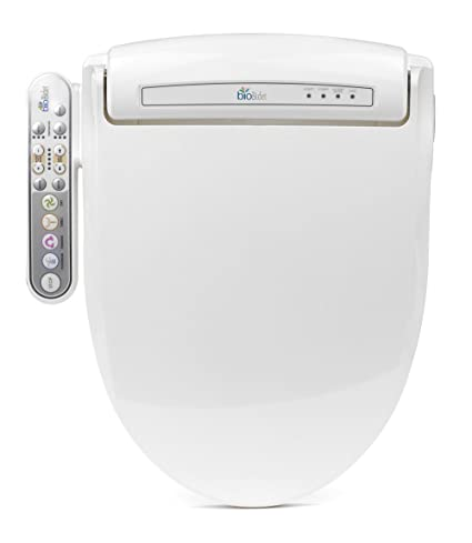 Sensational Biobidet Prestige Bb 800 Elongated White Bidet Toilet Seat Adjustable Warm Water Self Cleaning Side Panel Posterior Feminine And Vortex Wash Bralicious Painted Fabric Chair Ideas Braliciousco