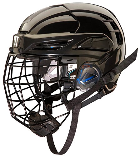 WARRIOR PXPHC6 Ice Hockey Players Helmet, Black, Medium