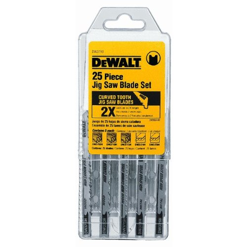 - Cobalt Jigsaw Blade Set