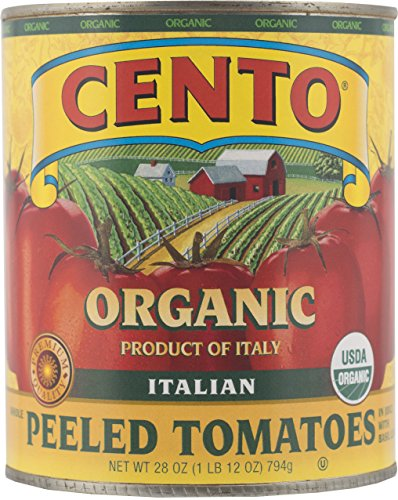nto Organic Italian Peeled Tomatoes, 28 Ounce (Pack of 6) ()