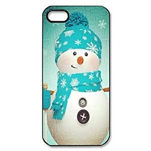 Christmas Funny Snow man hard back phone case for iPhone 5/5s