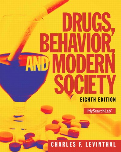 Drugs,Behavior+Modern Society