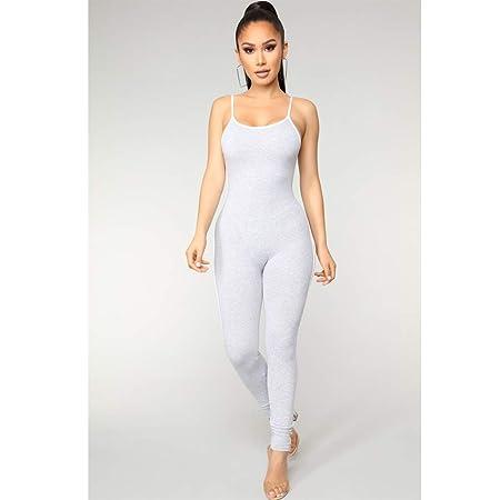 WYGH Mujer Sexy Mono Yoga Deporte Ocio Uno Trozo Catsuit ...