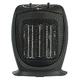 Alera HECH09 Ceramic Heater, 7 1/8''w X 5 7/8''d X 8 3/4''h, Black