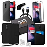 Orzly Ultimate Pack for OnePlus 6 (Accessories Bundle Includes USB Type C Charging Cable, Car Charger, Stylus Pen, Ring Stand, Tempered Glass Screen Protector, and a variety of OnePlus6 Phone Cases)