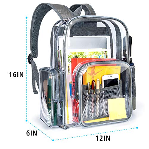 f3de7efb15 Packism Clear Backpack