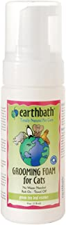 product image for Earthbath All Natural Green Tea Essence Cat Grooming Foam, 4-Ounce