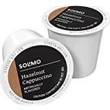Solimo Cappuccino Single Serve Cups, Hazelnut, 24ct