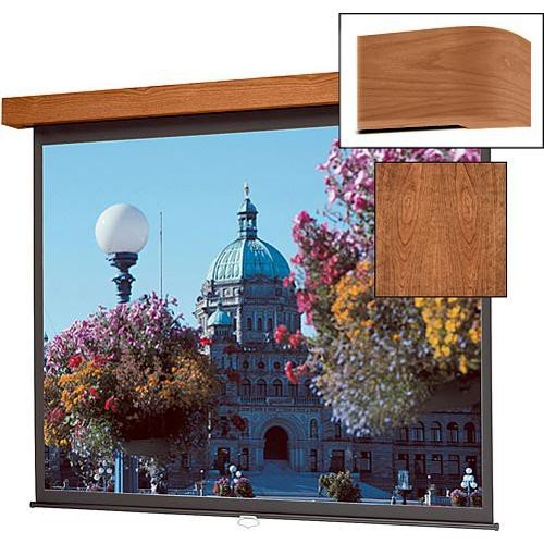 Da-lite Designer Electrol Lexington High Power Natural Walnut 120 Diagonal