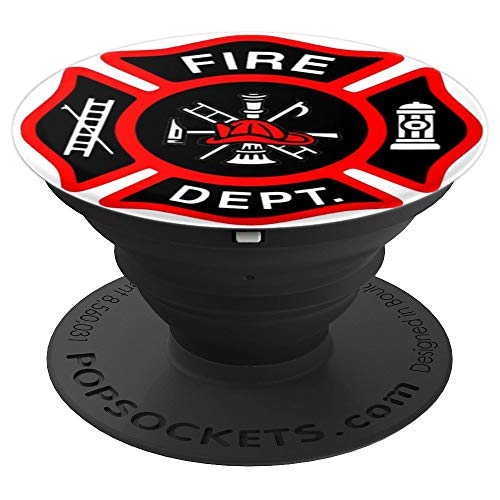 Awesome! Fire Dept. graphic grip for your cell phone!! - PopSockets Grip and Stand for Phones and Tablets