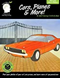 Cars, Planes & More-An Adult Coloring & Activity Book: A adult coloring book featuring classic cars, planes and more (Spry Mind-Coloring And Activity Books For Adults Of All Ages) (Volume 2)