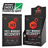 Post Workout Recovery Powder Best All-Natural Muscle Building Supplement, with 25g Protein & BCAAs (Natural Chocolate)
