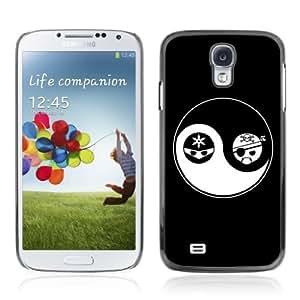 Designer Depo Hard Protection Case for Samsung Galaxy S4 / Yin & Yang