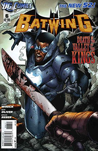 Batwing #6 VF/NM ; DC comic book