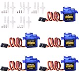 #6: Longruner SG90 Micro Servo Motor 9G RC Robot Helicopter Airplane Boat Controls KY66 (KY66-5)