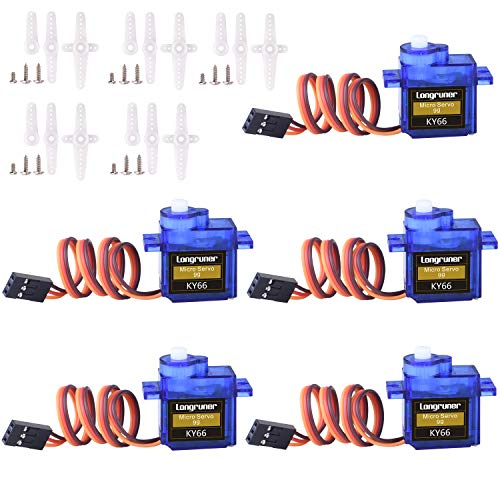 SG90 Micro Servo Motor 9G for RC Robot Airplane 5pcs