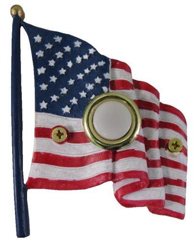 Waterwood Handpainted Flag Doorbell